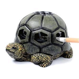 灰皿 おしゃれ アンティーク ヴィンテージ レトロ 亀 タバコ