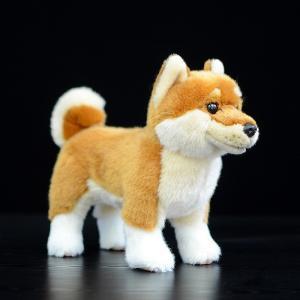 柴犬 ぬいぐるみ 犬 グッズ 動物 おもちゃ クッション 豆柴 リアル|sho-bai