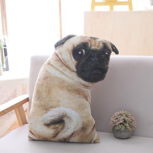 パグ グッズ 雑貨 ぬいぐるみ クッション 犬 Pug goods