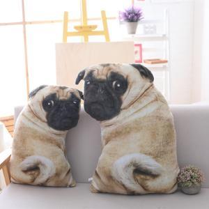 パグ グッズ 雑貨 ぬいぐるみ クッション 大サイズ 犬 Pug goods