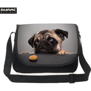 パグ グッズ 雑貨 メッセンジャーバック 鞄 Pug goods|sho-bai