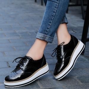 厚底オックスフォードシューズ レディース 靴 Oxford shoes|sho-bai