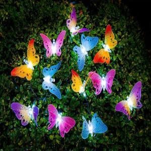 ソーラーライト 屋外 おしゃれ ガーデンライト led 蝶々 ガーデニング 北欧 sho-bai