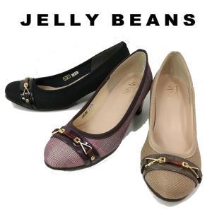 ジェリービーンズ JELLY BEANS パンプス ベルト ビット レディース 7178-100-800-999|shobido