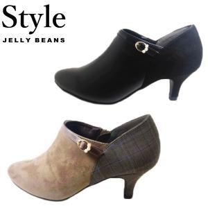 スタイル ジェリービーンズ JELLY BEANS ショートブーティ レディース 002308-770-100|shobido