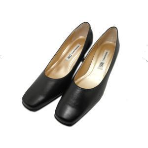ユキコ・キミジマ ソフトスクエア プレントゥ パンプス 靴 レディース 04840_10 shobido