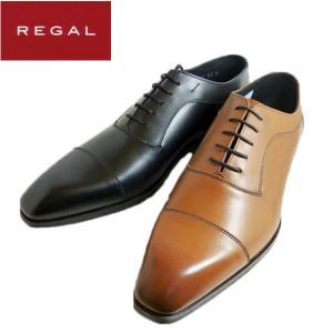 リーガル REGAL 靴 ブラック ストレートチップ ビジネスシューズ メンズ 011R|shobido