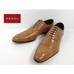 リーガル REGAL 靴 -200ブラウン ストレートチップ ビジネスシューズ メンズ 011R|shobido