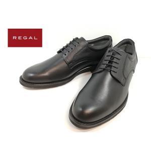 リーガル REGAL ブラック 靴 ビジネスシューズ プレーントゥ メンズ 31NRBB|shobido