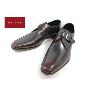 リーガル REGAL 靴 ワイン モンクストラップ ビジネスシューズ メンズ 728R -440|shobido