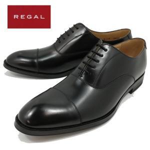 リーガル REGAL ストレートチップ 内羽根 ビジネス 冠婚葬祭 ブラック メンズ 811-100|shobido