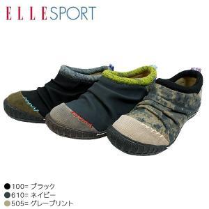 ELLE SPORT エルスポーツ 10813-100-505-610 カジュアル モック シューズ レディース|shobido