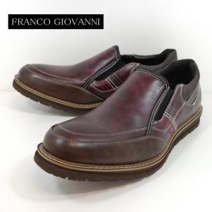 カジュアルシューズ フランコジョバンニ ワイン 靴 メンズ 513-440|shobido