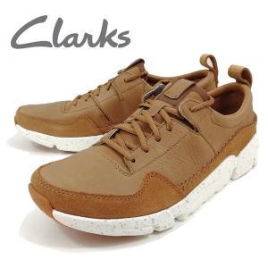 在庫限り クラークス カジュアル トライアクティブラン ブラウン 靴 メンズ 132284-200 shobido