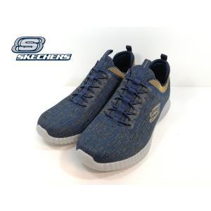 スケッチャーズ ネイビー 靴 メンズ 52642-613|shobido