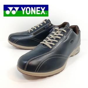 ヨネックス YONEX ウォーキング シューズ 靴 幅広 ネイビー メンズ MC30W 45E|shobido