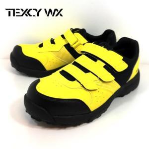 テクシーワークス プロテクティブ スニーカー イエロー 靴 メンズ WX0002|shobido