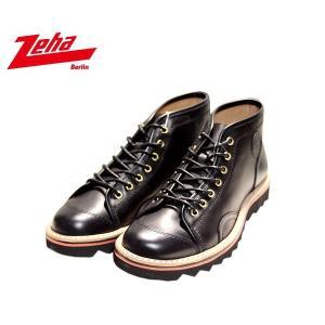 ツェハ Zeha クレーフェ ブーツ スニーカー 靴 メンズ 1176-BK|shobido