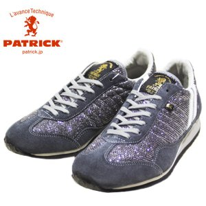 パトリック PATRICK メタリック メッシュ スタジアム 靴 レディース 530914-510|shobido