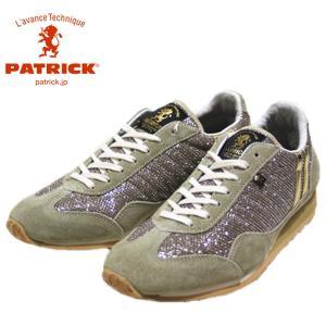パトリック PATRICK メタリック メッシュ スタジアム 靴 レディース 530915-880|shobido