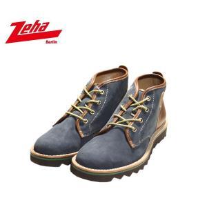 ツェハ Zeha ロストック ブーツ スニーカー 靴 メンズ 1178-NVY|shobido