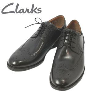 クラークス ベックフィールド リミット ウイングチップ ビジネスシューズ ウォーキングシューズ 靴 メンズ 119264-100|shobido