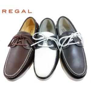 (T) REGAL リーガル デッキシューズ モカシン 靴 メンズ 554R|shobido