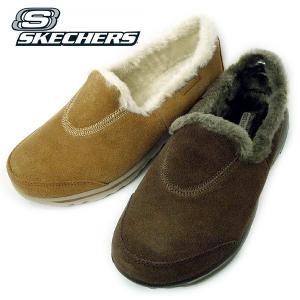 スケッチャーズ カジュアル ファー スリッポン 靴 レディース 13533-230-999|shobido