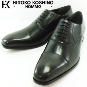 ヒロココシノ ストレートチップ ブラック 靴 メンズ 119-100 shobido