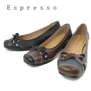エスプレッソ ソフトレザー 日本製 パンプス 靴 レディース 736-100-201-612|shobido