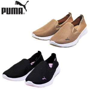 プーマ PUMA フレックス エッセンシャル スリップオン 靴 レディース 365273-05-06|shobido