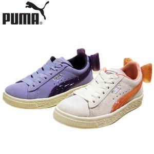 プーマ PUMA スウェード ジェリー 靴 子供 368960-01-02|shobido