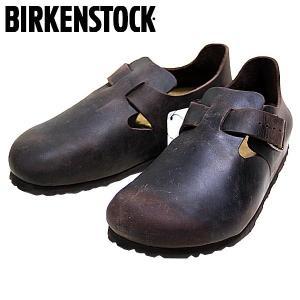 ビルケンシュトック BIRKENSTOCK ロンドン オイルドヌバックレザー カジュアル シューズ 靴 メンズ 166533-200|shobido