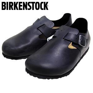 ビルケンシュトック BIRKENSTOCK ロンドン オイルドヌバックレザー カジュアル シューズ 靴 メンズ 166543-100|shobido
