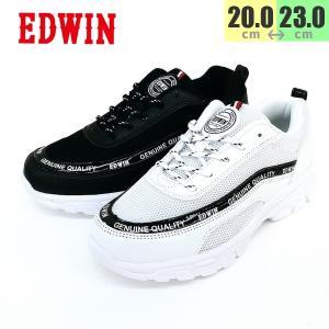 エドウィン ダッドシューズ 女の子3555 トレンドファッション 靴 子供|shobido