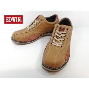 エドウィン キャメル カジュアル ローカット 靴 メンズ 5550 -300|shobido