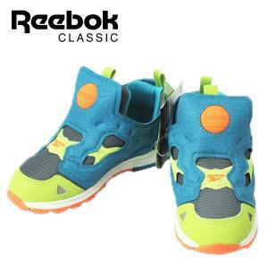 リーボック Reebok バーサ ポンプ フューリー キッズ スニーカー 靴 2380-600|shobido