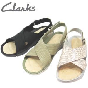 ↓CLARKS クラークス トライクロエ ストラップ サンダル レディース 244G-120-510-670|shobido