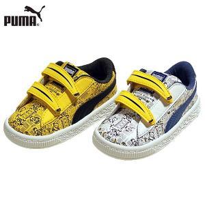↓ PUMA プーマ 364013-01-02 ミニオンズ バスケット V インファイト スニーカー 子供・キッズ|shobido
