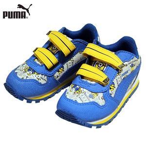 ↓ PUMA プーマ 364018-01 ミニオンズ ST ランナー V インファント スニーカー 子供・キッズ|shobido