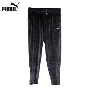↓ PUMA プーマ 516615-01 ヨギーニ ベルベット パンツ ボトム レディース|shobido