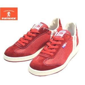 パトリック PATRICK ハーレム 靴 メンズ HARLEM16 528007-RED ローカット スニーカー シューズ|shobido