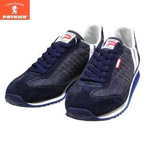 パトリック PATRICK マラソン デニム スニーカー 靴 メンズ 530182-610|shobido