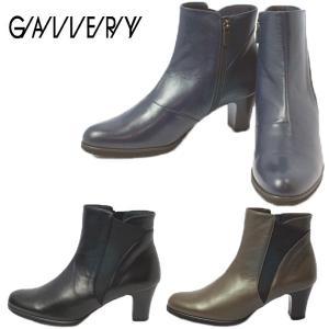 GALLERY ギャラリー 6222-100-520-610 デザインカット サイドゴア ショート ブーツ|shobido
