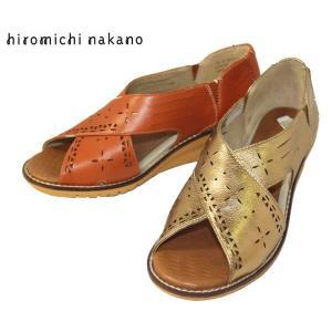 ↓HIROMICHI ヒールラップ サンダル ヒロミチ・ナカノ 靴 レディース 627H -20|shobido