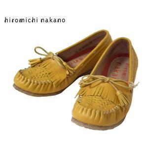 インディアンモカシン風 カジュアルシューズ ヒロミチ・ナカノ 靴 レディース 633HL -30|shobido