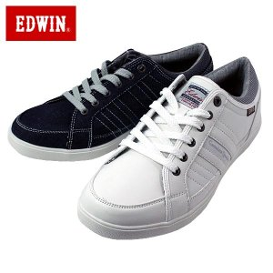 EDWIN エドウィン 7152-610-900 ローカット スニーカー カップインソール メンズ|shobido