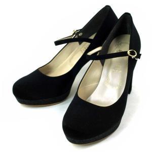 メタルルージュ ストラップ パンプス 靴 レディース 7234-100 shobido