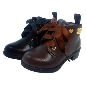 サンリオ ハローキティ レースアップ ショートブーツ 靴 子供 8127-200-100|shobido