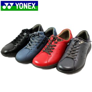YONEX ヨネックス 82-100-600-520-400 パワークッション コンビカラー ジップアップ ウォーキング シューズ|shobido